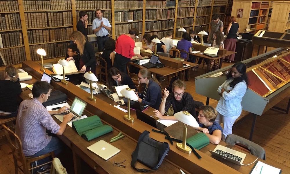 Bilan de l'école d'été Biblissima 2016 : Autour de la bibliothèque du Mont Saint-Michel