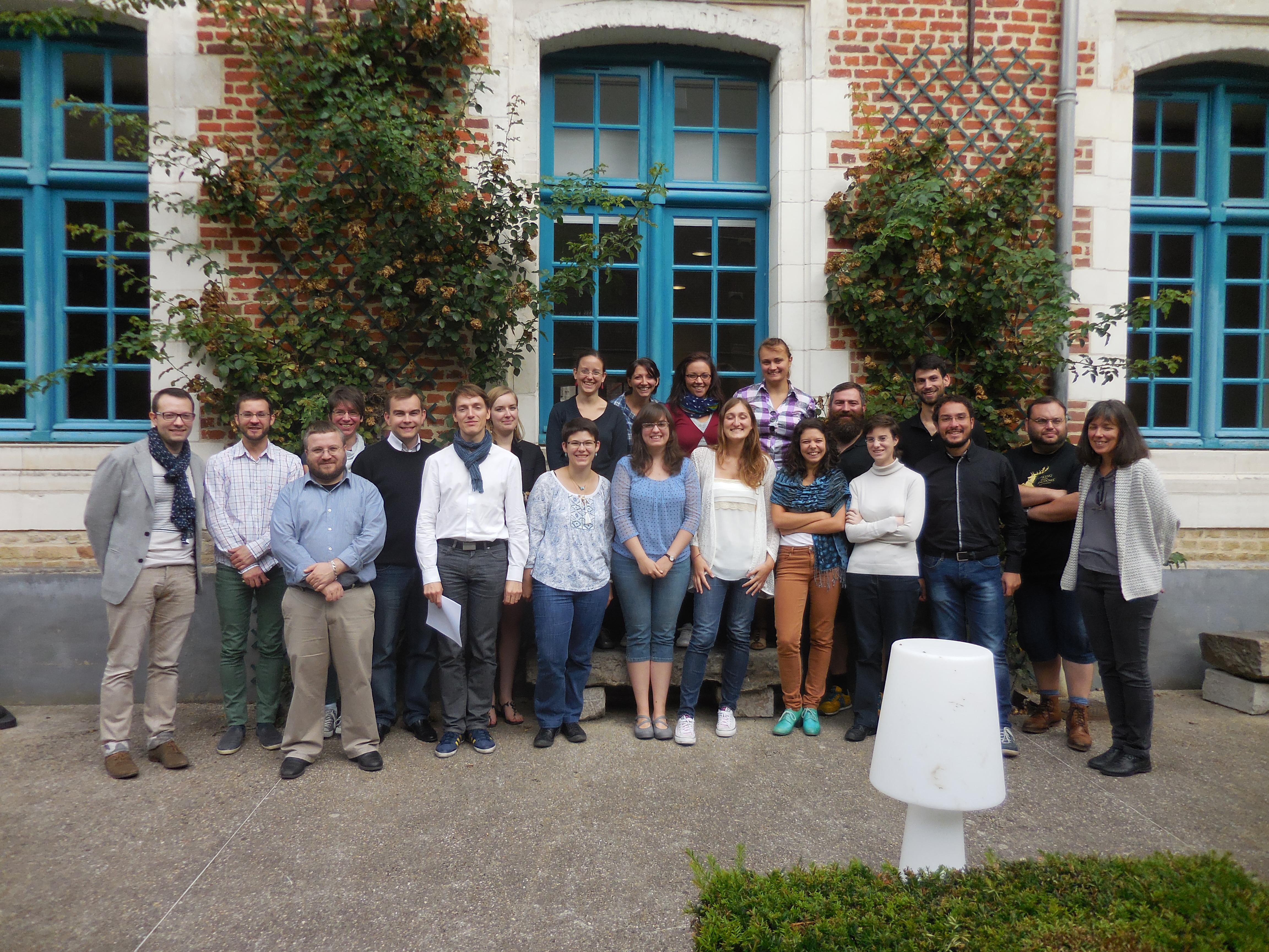 Ecole d'été Saint-Omer 2015 : intervenants et participants