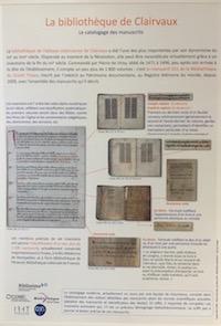 La bibliothèque de Clairvaux : le catalogage des manuscrits