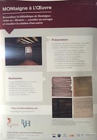 MONtaigne à L'Œuvre : reconstituer la bibliothèque de Montaigne