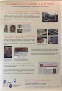 Renaissance d'une bibliothèque sinistrée : les manuscrits brûlés de Chartres et les nouvelles technologies
