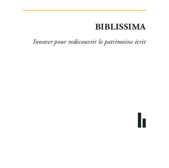 Biblissima... le livre