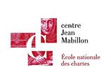 Logo Centre Jean Mabillon (École nationale des chartes)