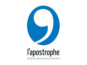 Logo Médiathèque l'Apostrophe - Ville de Chartres