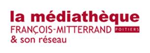 Logo Médiathèque François-Mitterrand du Grand Poitiers