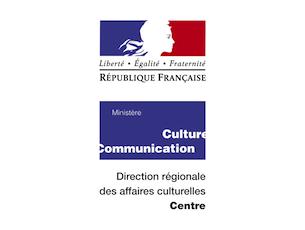 Logo Direction des Affaires Culturelles de la région Centre