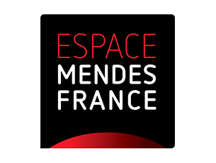 Logo Espace Mendes France, Centre de culture scientifique, technique et industrielle