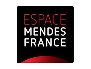 Logo Espace Mendes France, Centre de culture scientifique, technique et industrielle