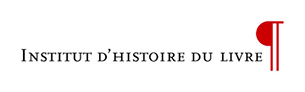 Logo Institut d'histoire du livre