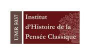 Institut d'Histoire de la Pensée Classique