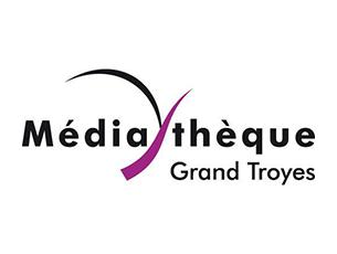 Logo Médiathèque Grand Troyes