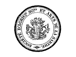 Logo Société d'Agriculture, Sciences et Arts de la Sarthe