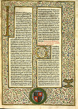 Manuscrit de Bourges