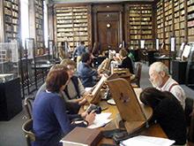 Groupe de travail à la Bibliothèque de Saint-Omer