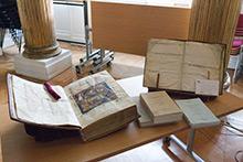 Manuscrits exposés
