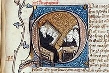 Commentaire des Sentences de Pierre Lombard, Troyes, BM, ms. 151, f. 124