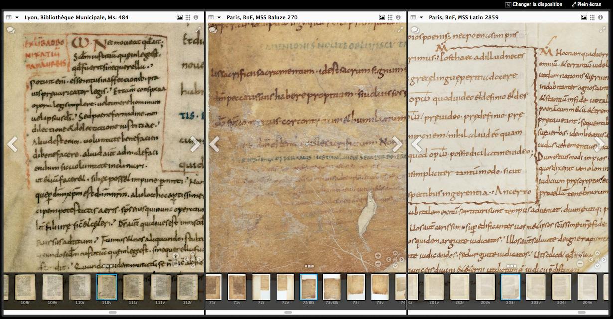 Agobard, Florus et les manuscrits de Lyon