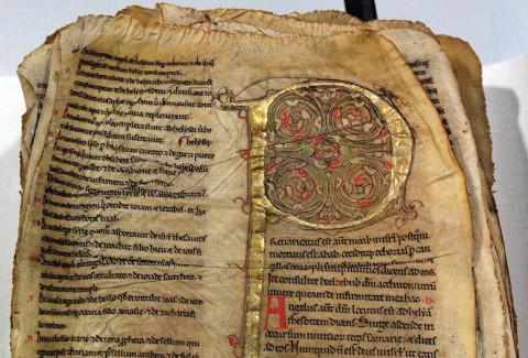 Manuscrit sinistré - Médiathèque de l'Apostrophe, Chartres