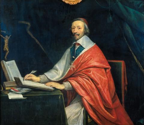 Le cardinal de Richelieu écrivant (Philippe de Champaigne)